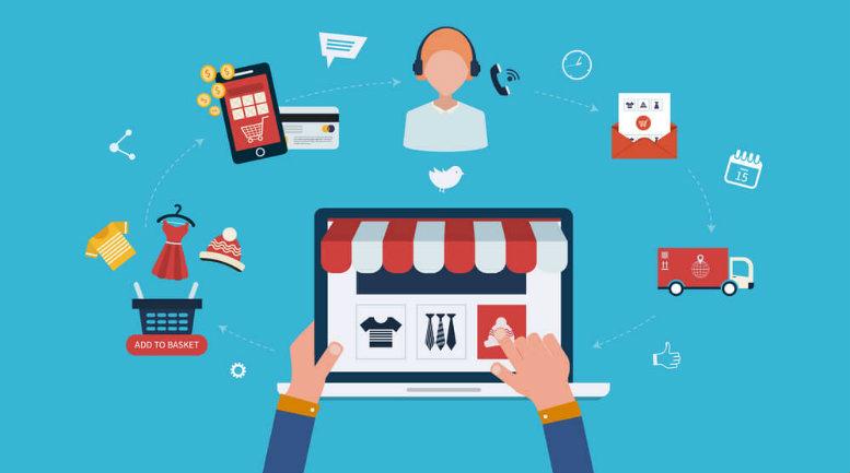 Comunicação visual para lojas virtuais
