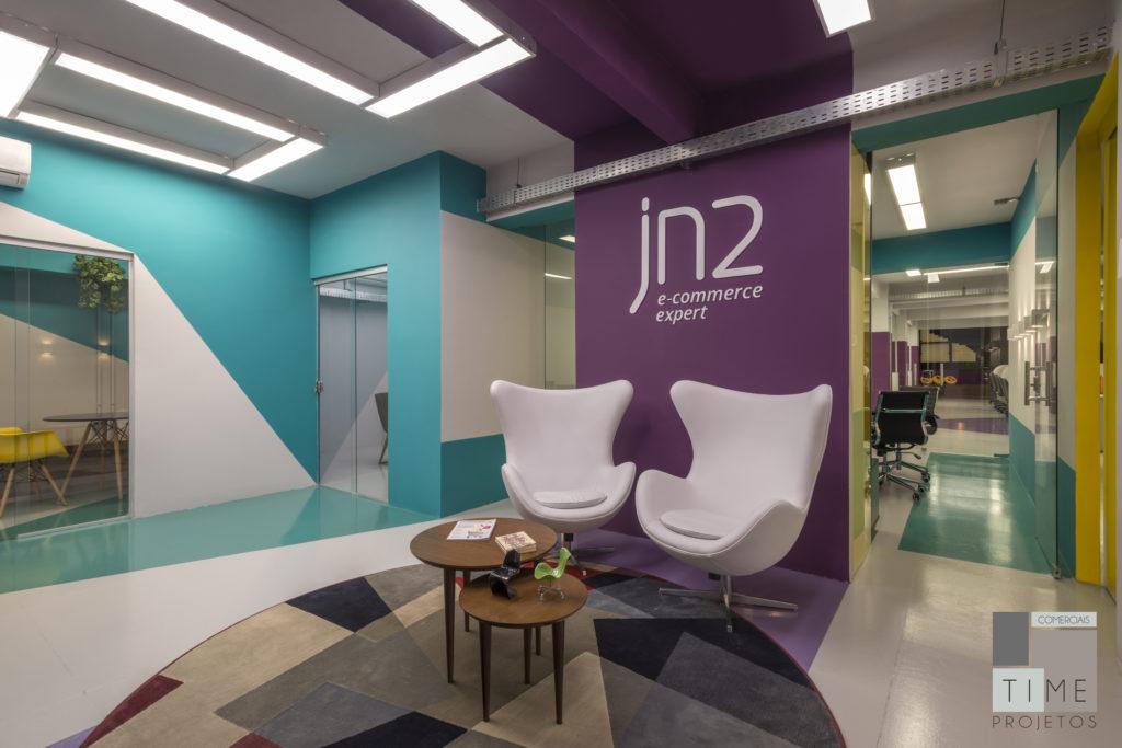 Sede da JN2, única representante Magento BH