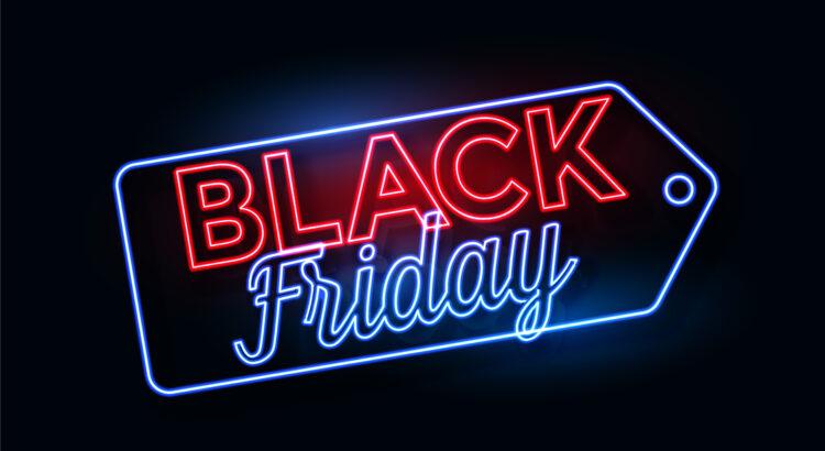 Imagem com as palavas Black Friday