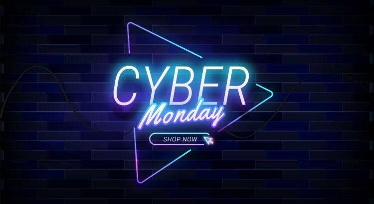 Imagem com as palavras Cyber Monday